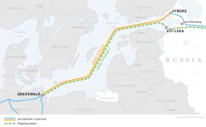 """Dujotiekis """"Nord Stream 2"""" vis dar nepabaigtas"""